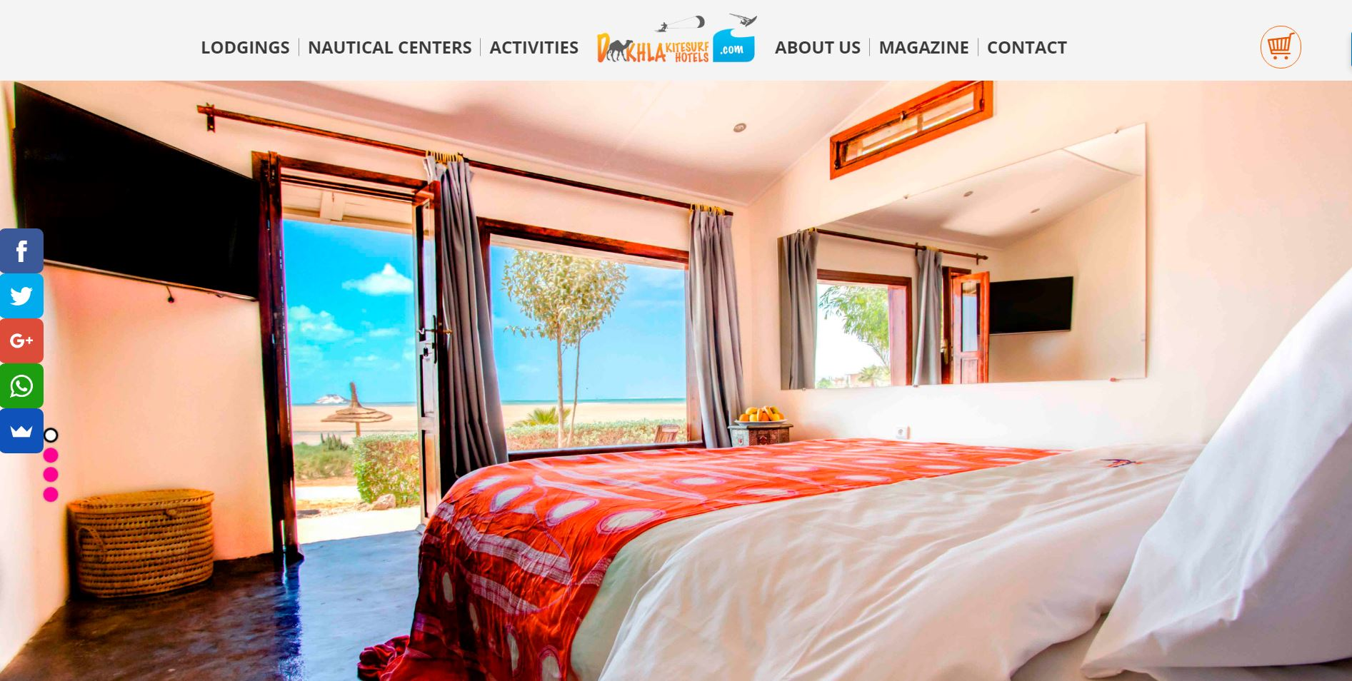Dakhla kitesurf hotels marketing online malaga dise o for Hotel diseno malaga