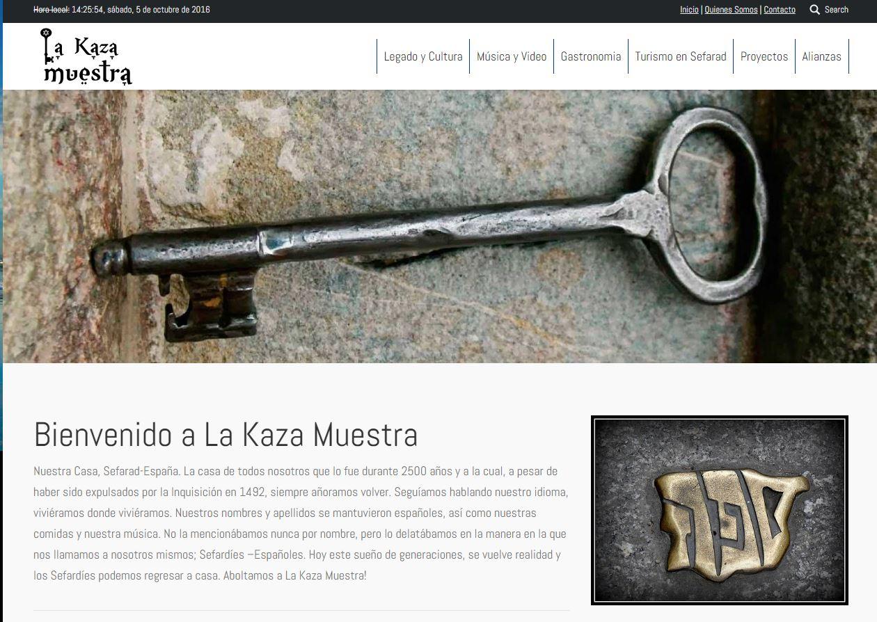 Diseño Web La Kaza Muestra