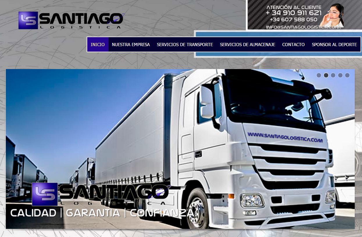 Diseño Web Santiago Logistica