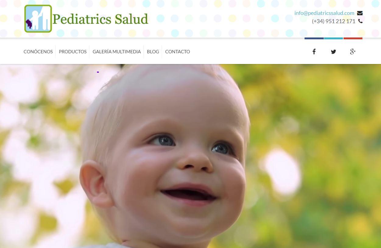 Diseño Web pediatrics Salud
