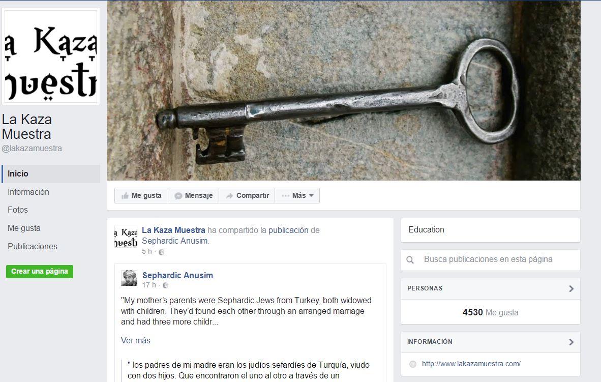 Redes Sociales La Kaza Muestra