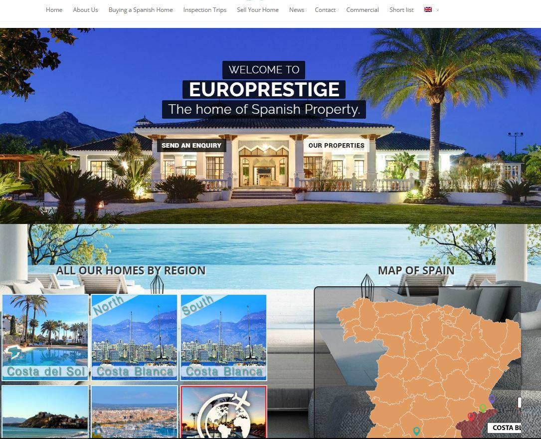 Diseño Web Europrestige